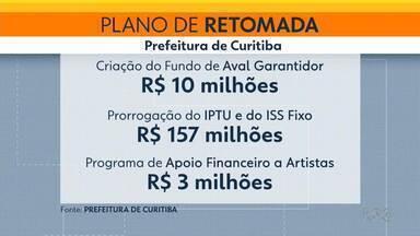 Curitiba lança programa de retomada da economia - Prefeitura vai oferecer auxílio a setores como artístico e esportivo.