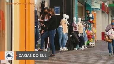 Serra retorna à bandeira laranja no distanciamento controlado do RS - Ocupação dos leitos de UTI da região está em 70%.