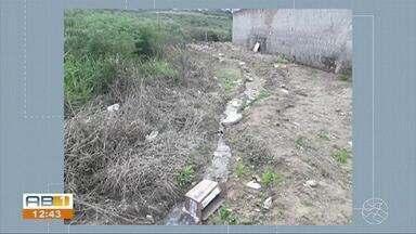 Falta pavimentação, saneamento e iluminação no loteamento Horizonte, em Garanhuns - Prefeitura e Construtora entram em impasse sobre a responsabilidade das obras e serviços.