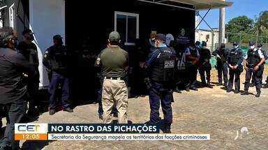 Secretaria mapeia territórios das facções criminosas - Saiba mais no g1.com.br/ce