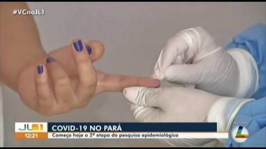 Começa segunda etapa da pesquisa epidemiológica de Covid-19 no Pará - Começa segunda etapa da pesquisa epidemiológica de Covid-19 no Pará