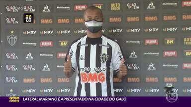 Mariano é apresentado na Cidade do Galo - Jogador volta ao clube após 12 anos de uma passagem polêmica