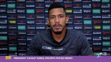 """Fernando Sobral, o """"cavalo puro sangue"""", é destaque no Ceará e influencer digital - Saiba mais em ge.globo/ce"""