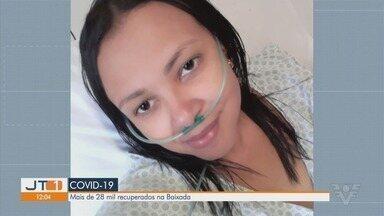 Enfermeira que se recuperou da Covid-19 faz alerta sobre doença - Cintia Santos é enfermeira e ficou internada por conta do novo coronavírus.