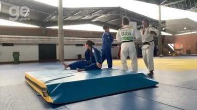 Sarah Menezes treina em Portugal com seleção brasileira de Judô - Sarah Menezes treina em Portugal com seleção brasileira de Judô