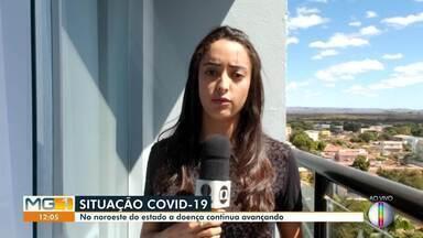 Covid-19: Cidades do Noroeste de Minas confirmam novos casos da doença - Os casos na região estão em curva crescente.