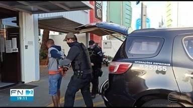 Operação Midas prende suspeitos de furtos a joalherias - Um dos crimes totalizou R$ 500 mil.