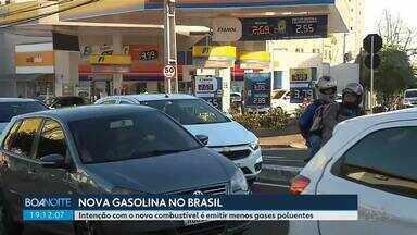 Nova gasolina deve chegar as bombas nos próximos dias - Intenção com o novo combustível é emitir menos gases poluentes.