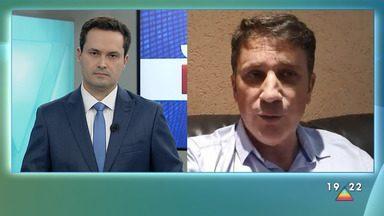 Prefeito de Pindamonhangaba, Isael Domingues, recebe alta de hospital - Ele estava com Covid-19 e chegou a ser internado em UTI em São Paulo
