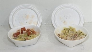 Perícia descarta envenenamento, em cozinha de igreja, de marmitas que mataram dois homens - Dois sem-teto morreram em Itapevi, SP, depois de consumirem refeição preparada em cozinha de igreja. Um exame identificou a contaminação da comida por veneno de rato.