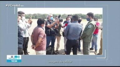 Ministro do Meio Ambiente Ricardo Sales visita Jacareacanga, no PA - Operação do Ibama de combate a garimpos ilegais termina em protesto.