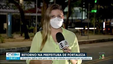 Prefeitura anuncia data de retorno de atividades presenciais em secretarias e orgãos públi - Saiba mais em: g1.com.br