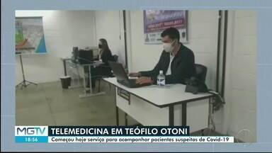 Covid-19: Prefeitura de Teófilo Otoni inaugura central telefônica para atender pacientes - Segundo município, 600 pessoas estão sendo acompanhadas.