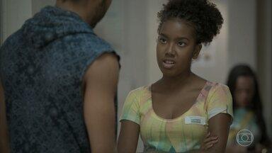 Jeniffer discute com Cascudo no hospital - undefined