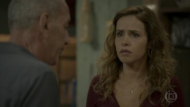 Cordeiro conta a Gilda e Eliza que Dino fugiu - undefined