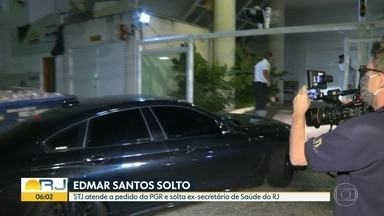 Edmar Santos é solto - STJ atende a pedido da PGR e solta ex-secretário de Saúde do Rio de Janeiro