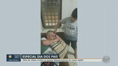 Série de vídeos da EPTV mostra os pais da região de Ribeirão Preto, SP - Envie seu vídeo pelo WhatsApp pelo número (16) 99700-0000