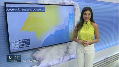 Baixa umidade do ar predomina na região de Campinas; veja a previsão deste sábado (8) - Em Hortolândia (SP) e Charqueada (SP), mínimas devem chegar a 13°C.