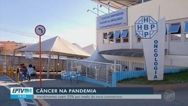 Atendimentos relacionados ao câncer caem 20% durante a pandemia por medo da Covid-19 - Atendimentos relacionados ao câncer caem 20% durante a pandemia por medo da Covid-19