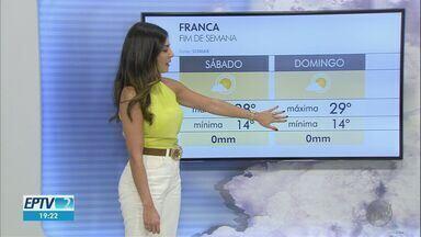 Confira a previsão do tempo para este sábado (8) na região de Ribeirão Preto - Baixa umidade relativa do ar ascende alerta à população.