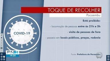 Pacaembu cria 'toque de recolher' das 21h às 5h devido ao aumento de casos da Covid-19 - Decreto começa a valer na segunda-feira (10).
