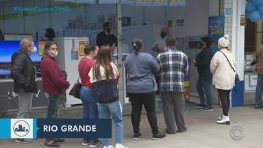 Gaúchos movimentam o comércio na véspera do fim de semana do Dia dos Pais - Assista ao vídeo.