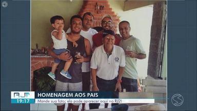 Telespectadores enviam vídeos em homenagem ao Dia dos Pais - Envie seu vídeo para o WhatsApp da TV Rio Sul. Telefone é o (24) 99313-9599.