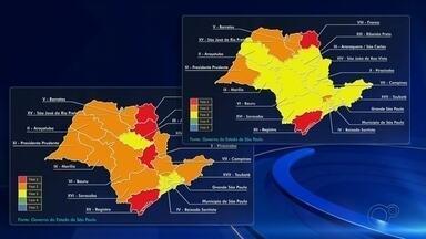 Araçatuba avança para fase amarela do Plano São Paulo - Araçatuba (SP) avançou à fase 3 (amarela) do Plano São Paulo de flexibilização das atividades econômicas. Portanto, bares, restaurantes, salões de beleza, barbearias e academias estão autorizados a funcionar novamente.