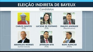 Eleição indireta para prefeito de Bayeux tem seis chapas registradas - Nomes dos candidatos foram homologados pela Câmara Municipal nesta sexta-feira (7).