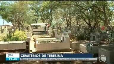Cemitérios vão abrir no Dia dos Pais com medidas de segurança para evitar Covid-19 - Cemitérios vão abrir no Dia dos Pais com medidas de segurança para evitar Covid-19