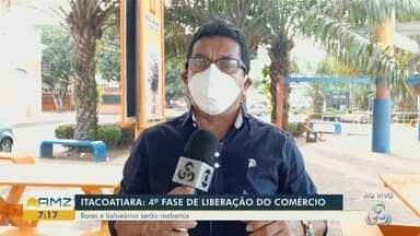 Prefeitura de Itacoatiara anuncia a 4ª fase de liberação do comércio - Bares e balneários serão reabertos.