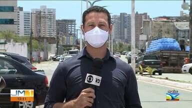 Bares são notificados por provocar aglomerações em São Luís - O repórter Adailton Borba tem mais informações.