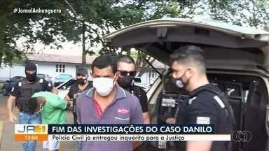 Polícia Civil conclui inquérito que investiga morte de Danilo Sousa, em Goiânia - Documento fica por conta da Justiça.