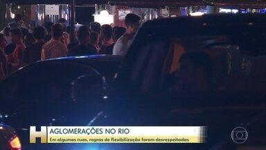 Capitais tiveram pontos de aglomeração no fim de semana - Prefeitura de São Paulo interditou 75 estabelecimentos por desrespeito às novas regras.
