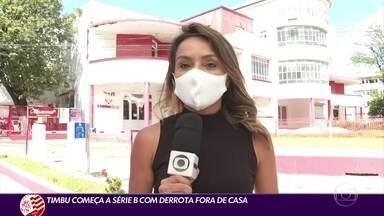 Náutico estreia com derrota na Série B - Náutico estreia com derrota na Série B