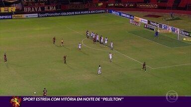 Sport vence o Ceará e inicia a Série A com tranquilidade - Sport vence o Ceará e inicia a Série A com tranquilidade