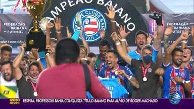 Bahia vence Atlético de Alagoinhas nos pênaltis e é campeão baiano 2020 - Bahia vence Atlético de Alagoinhas nos pênaltis e é campeão baiano 2020