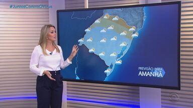 Chuva retorna ao RS nesta terça-feira (11) - Confira a previsão do tempo.