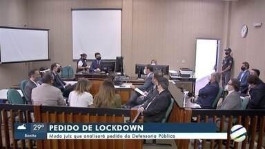 Muda juiz que analisará pedido da Defensoria Pública por lockdown em Campo Grande - Muda juiz que analisará pedido da Defensoria Pública por lockdown em Campo Grande
