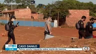 Polícia Civil diz que servente de pedreiro planejou a morte do Danilo por cinco dias - Motivo do crime foi ciúme da relação da família dele com a família do menino.