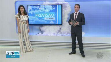 Confira a previsão do tempo para esta terça-feira (11) na região de Ribeirão Preto - Temperaturas devem subir ao longo da semana.