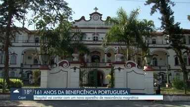 Beneficência Portuguesa comemora 161 anos com nova ala e novo aparelho - Hospital de Santos vai contar com um novo aparelho de ressonância magnética.