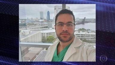Jovem médico do interior do Paraná morre de Covid-19 - Lucas Pires Augusto era neurocirurgião. Há dois anos, ele participou da equipe que fez a cirurgia inédita no país de separação de gêmeas siamesas