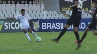 O Santos estreou no Campeonato Brasileiro contra o Bragantino - O técnico Cuca também estreou mas o time santista não passou de um empate na Vila Belmiro.