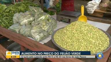 Feijão apresenta aumento de preço nas feiras de João Pessoa - Veja as informações e valores