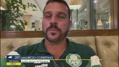 Maurício Copertino fala do título paulista do Palmeiras - Time irá estrear no Brasileirão, nesta quarta-feira, após ser campeão no Paulistão.