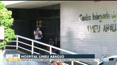 Hospital Lineu Araújo volta a realizar exames e consultas - Hospital Lineu Araújo volta a realizar exames e consultas