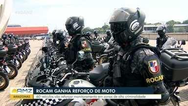 Rocam Motos é lançada em Manaus - Programa quer faciliar acesso de policiais em áreas com altos índices de violência