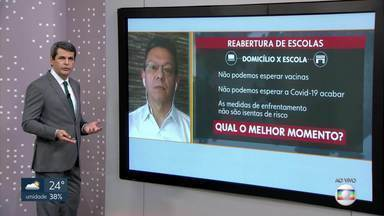 Pergunte ao Doutor: é momento de retorno às aulas presenciais? - O médico Luiz Antonio Silva responde as dúvidas sobre a pandemia do coronavírus e a reabertura das escolas.