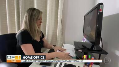 Servidores públicos em home office tem sobrecarga de trabalho - É o que mostra uma pesquisa da UnB. Mesmo assim, a maioria gostaria de continuar em casa depois da pandemia.